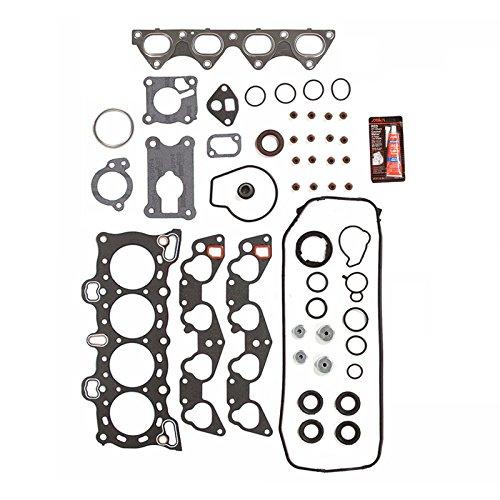 (Head Gasket Set Graphite For: 1988-1995 Honda Civic 1.5L 1.6L I4 Engine Codes D15B2 D15B7 D16A6)