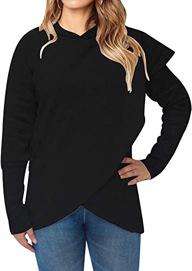Womens Hoodies for Women Plain Hooded Sweatshirts Oversized