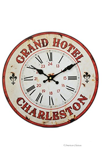 (American Chateau Vintage Style Grand Hotel Charleston Wall Kitchen)