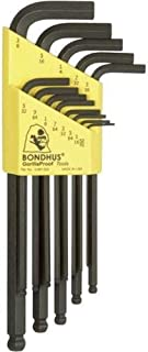 product image for Bondhus 10937 Set of 13 Balldriver L-wrenches, sizes .050-3/8-Inch