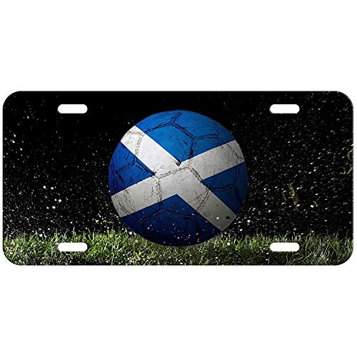 - Cf High Grade Aluminum License Plate Flag Of Scotland Scottish Wood/usa Saltire Wod Andrews Wood Liscence Scotchish Licence Scottland Us Kitchen For Flags Accessories Scotish Frames Plates Tags Alum