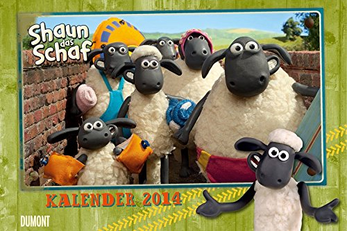Shaun das Schaf 2014 Wandkalender