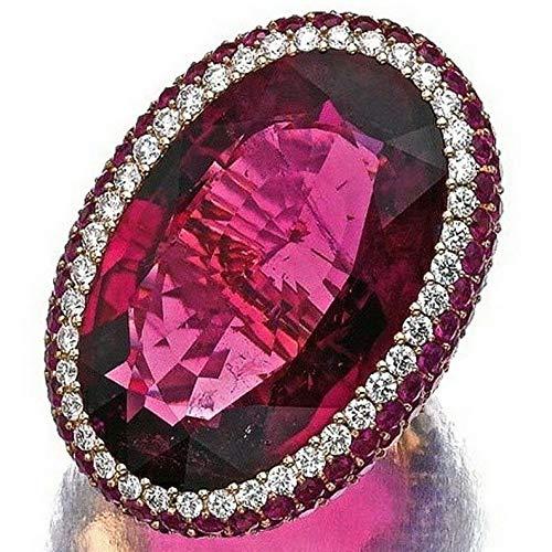 - Dokis Vintage Women 925 Silver Amethyst Ruby Man Ring Wedding Engagement Size 6-10 | Model RNG - 17039 | 6