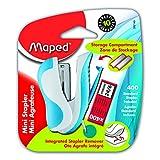 Maped Ergologic Mini Stapler, Assorted Color (352149)