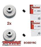 Bobbyrc Traxxas 2431 Pinion Gear 31T 48P (2pc) 1 10 Slash 2WD Rustler Stampede Bandit