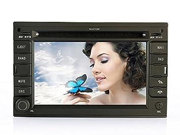 Detroit MAXYON II GPS + DVB-T Radio para coche VW Seat DVD o ...
