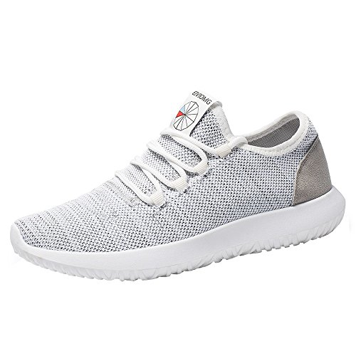 (HAALIFE◕‿Men's Walking Shoes Mesh Casual Athletic Shoes Running Shoes Gray)