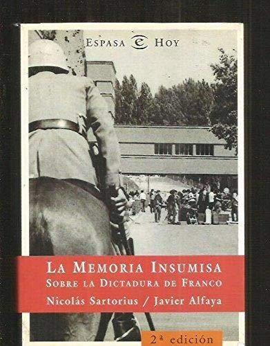 La memoria insumisa sobre la dictadura de Franco (Broken Sparrow Records)