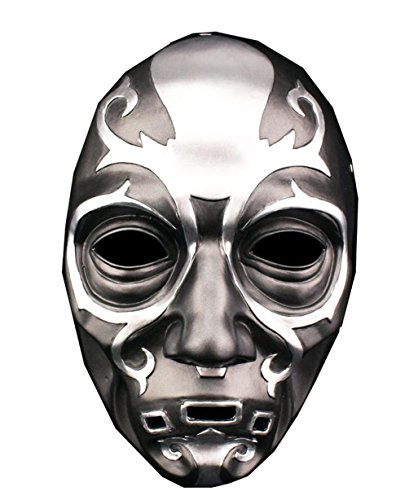 xcoser Death Eater Mask Halloween Wizards Cosplay Costume Accessories