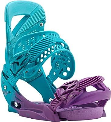29c1206f08a Amazon.com   Burton Lexa EST Snowboard Bindings Womens Sz M (6-8)   Sports    Outdoors