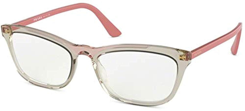 46f8428a3c26 Prada CONCEPTUAL PR10VV Eyeglass Frames 3261O1-52 - Brown Trasnp/Pink  PR10VV-3261O1-52: Amazon.ca: Clothing & Accessories