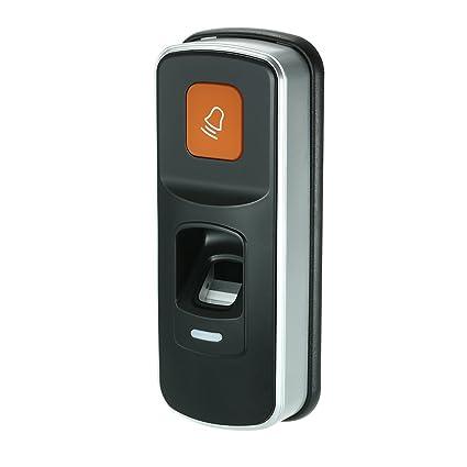 OWSOO Cerradura de Huella Digital Cerradura Biométrica Lector de Control de Acceso Soporte Fingerprint Tarjeta RFID
