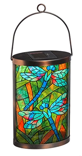New CreativeSolar Glass Lantern ()