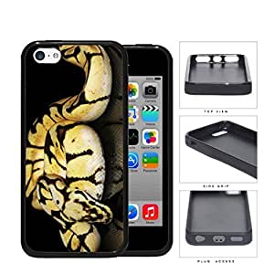 Ball Python Snake On Mirrored Surface Rubber Silicone TPU Cell Phone Case Apple iPhone 5c by supermalls
