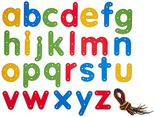 6905 READY2LEARN Lowercase Lacing Alphabets (Pack of 26) ()