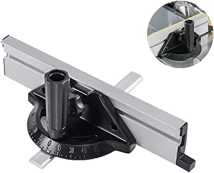 Calibre de inglete calibre de inglete de 450 mm para sierra de mesa enrutador herramienta juego de accesorios de sierra