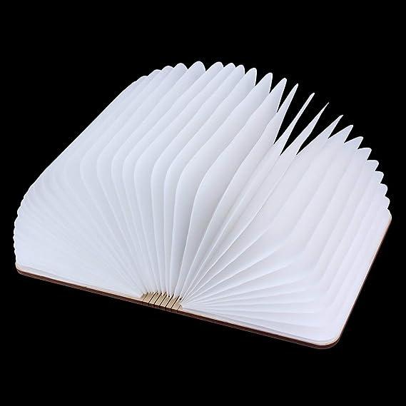 Rventric Night Light Foldable LED Book Lamp, Table Lamp USB
