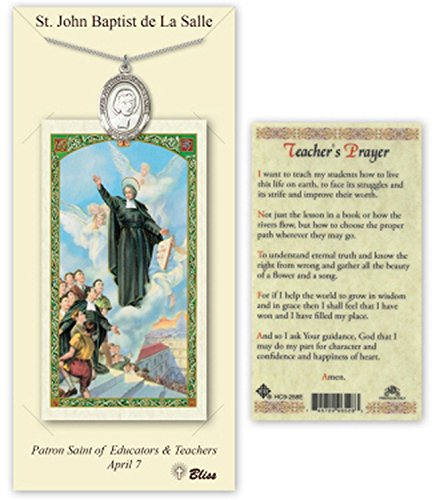 pewter-st-saint-john-baptist-de-la-salle-medal-pendant-necklace-comes-with-a-24-inch-stainless-silve