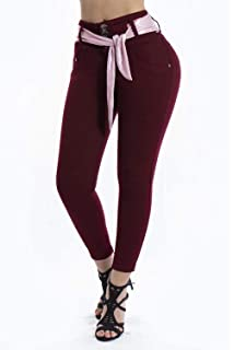 VEROX JEANS Pantalones Colombianos Cintura alta Levantacola 3201