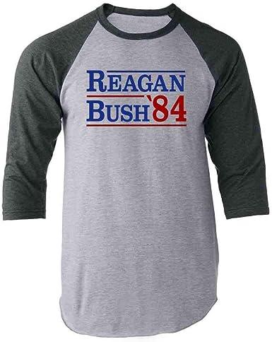 Reagan Christmas Graphic Cotton Womens T Shirt Comfort Long Sleeve Womens T Shirts Black
