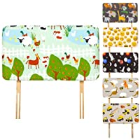 Children's Upholstered Headboard for Single Bed, Available in 6 New Designs