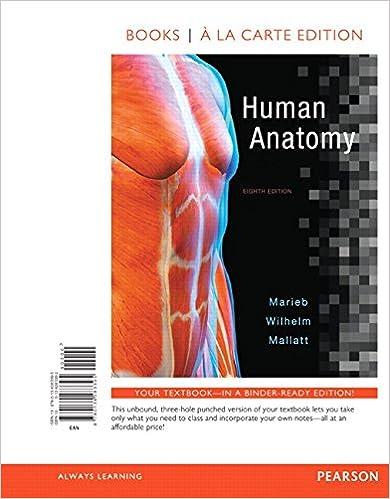 Amazon.com: Human Anatomy, Books a la Carte Edition (8th Edition ...
