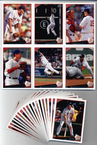 Sox 2009 Team Set (2009 Topps Baseball Boston Red Sox Team Set (24 cards))