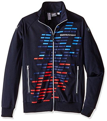 PUMA Men's Bmw Msp Track Jacket, Team Blue, X-Large