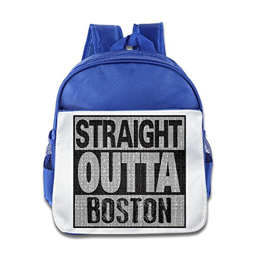 Price comparison product image Straight Outta Boston Backpack Children School Bag RoyalBlue