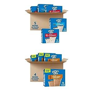 Pop Tart Bundle: 60 ct Variety Pop Tarts & 64 ct Brown Sugar Pop Tarts