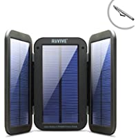 ReStore PX6000 Folding Solar Charger and 6000mAh Power Bank with Active Charging & Built-In Kickstand by ReVIVE - Works with Apple iPad (All) , Samsung Galaxy Tab , Dragon Touch Y88X and More Tablets