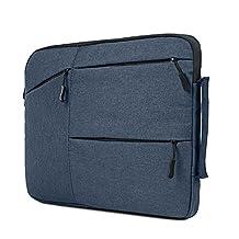 HAOCOO Laptop Bag 12 inch,Waterproof Messenger Bag Hand Bag Briefcase for Macbook Pro/Air/Computer/Asus/Notebook/Gaming Laptop/Lenovo/Acer Laptop/Chromebook etc. (12 inch, Dark Blue)