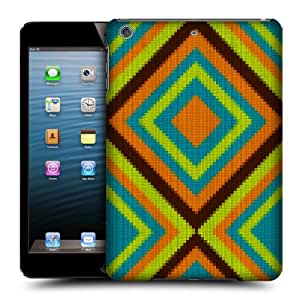 Head Case Designs Native Pattern Knit Freak Protective Snap-on Hard Back Case Cover for Apple iPad mini with Retina Display