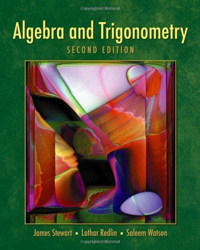Algebra and Trigonometry- 2nd Edition (with Video Skillbuilder CD-ROM )