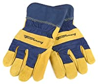 Forney Pigskin Leather Palm Premium Lined Men's Work Gloves