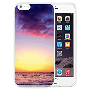 Nature Sunset Over Sea Surface Landscape (2) Durable High Quality iPhone 6 Plus 5.5 Inch TPU Case