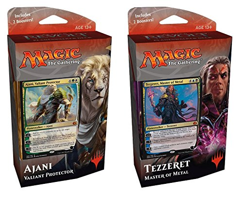 Get-both-Aether-Revolt-Planeswalker-Decks-Ajani-Tezzeret