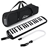#6: Eastar 37 Key Melodica Instrument Piano-Style with Mouthpiece ,Carrying Bag Black