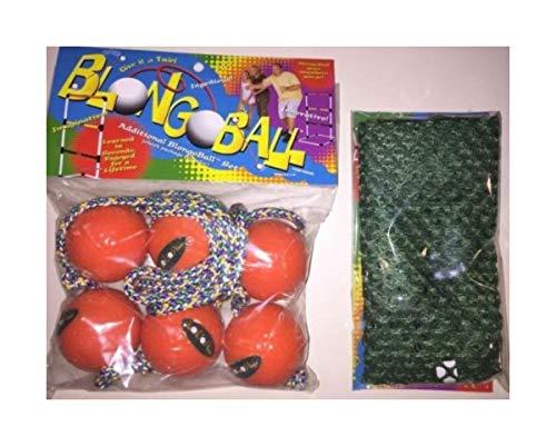 3 Orange Ladder Balls Bolo Toss Hillbilly Golf Free CASE Skallywags Depot by Unknown