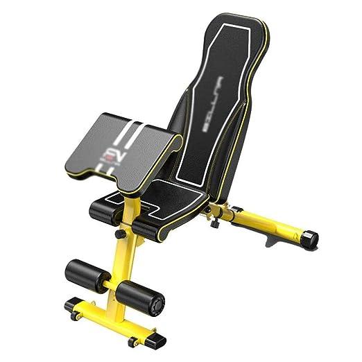 YPSMLYY Equipo De Fitness Multifuncional Banco De Pesas Tabla De ...