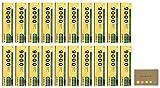 Uni Mitsubishi 9000 Pencil, 4B, 20-pack/total 240 pcs, Sticky Notes Value Set