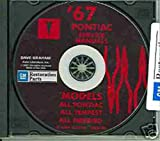 1967 PONTIAC FACTORY REPAIR SHOP & SERVICE MANUAL & FISHER BODY MANUAL CD Bonneville, Catalina, GTO, Tempest, Tempest Custom, Tempest LeMans, Executive, Grand Prix, Safari, Firebird, Sprint, H.O. & 400 (includes convertibles & wagons)