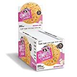 Lenny and Larrys The Complete Cookie, Birthday Cake, Soft Baked, 16g Plant Protein, Vegan, 4-Ounce Cookies, Pack of 12