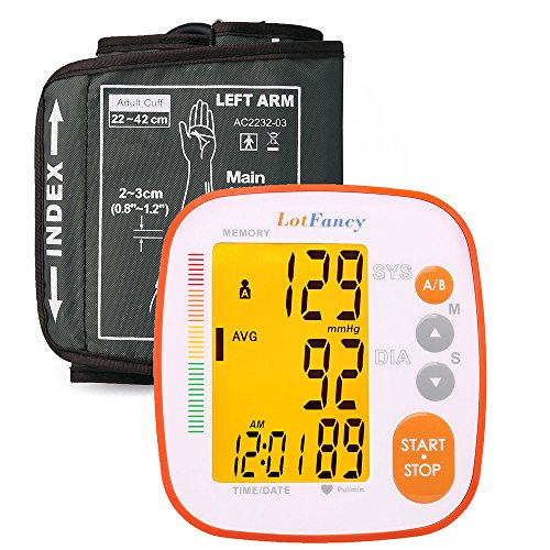 LotFancy Pressure Monitor Digital Machine