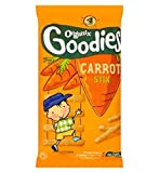 Organix Goodies Organic Carrot Stix For Toddlers From 12+ Months 60G - Pack of 2