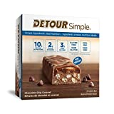 Detour Simple Chocolate Chip Caramel Protein Bars 9 x 30g