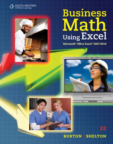 Business Math Using Excel Pdf