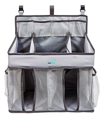 Diaper Caddy & Baby Nursery Organizer, Gray Diaper Organizer