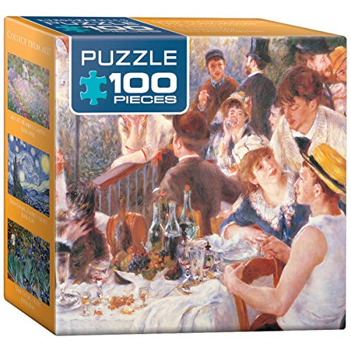 EuroGraphics The Luncheon by Pierre-Auguste Renoir Mini Puzzle (100-Piece)