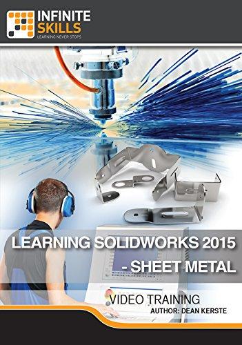 Software : Learning SolidWorks 2015 - Sheet Metal [Online Code]